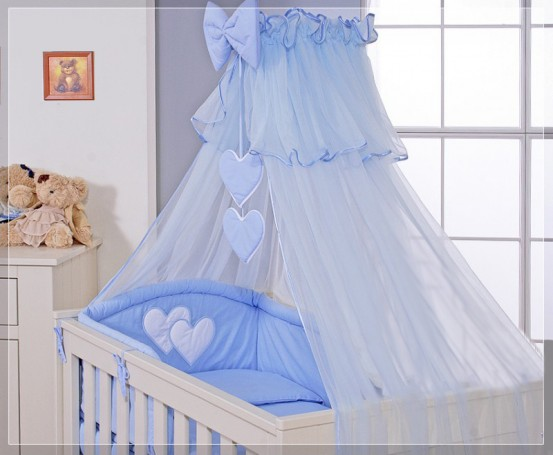 My Sweet Baby Sluier Voile Blauw