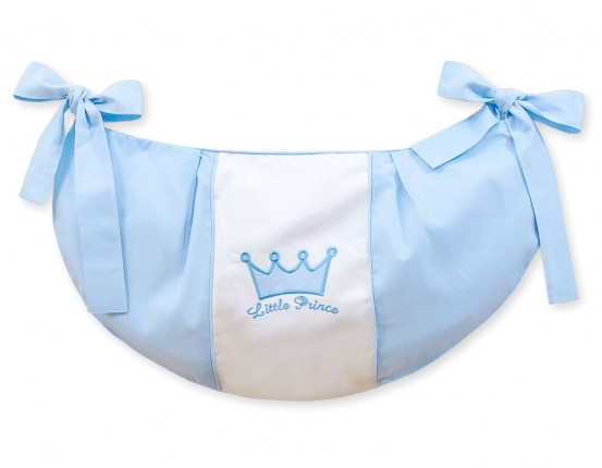 My Sweet Baby Speelgoedzak Little Prince Blauw