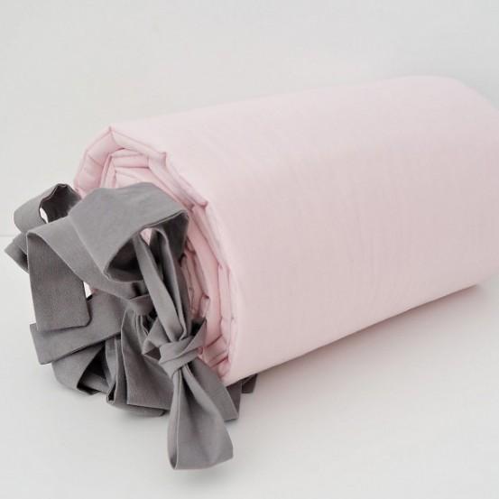 Dolly Hoofdbeschermer Roze-Grijs