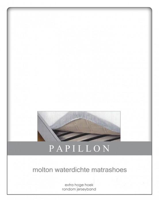 Hoeslaken Molton Waterdicht Papillon