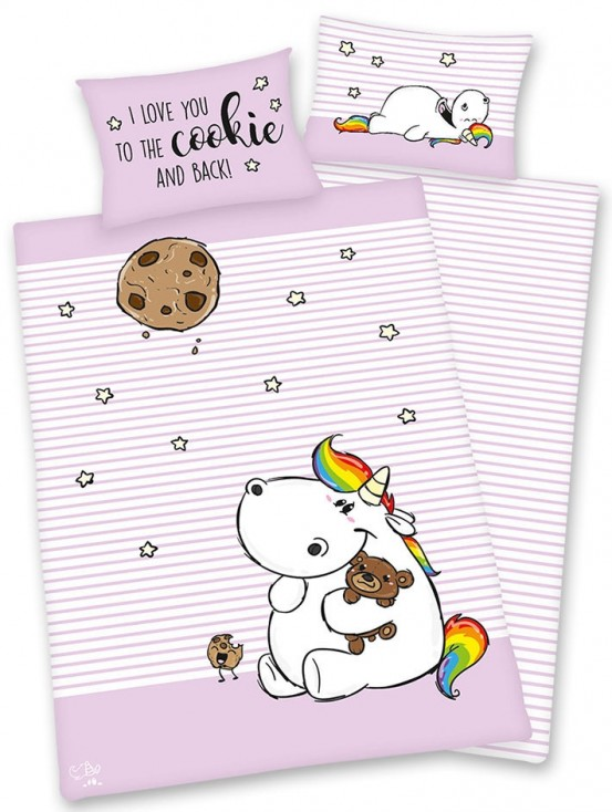 Peuter Dekbedovertrek Cookie 100 x 135 cm