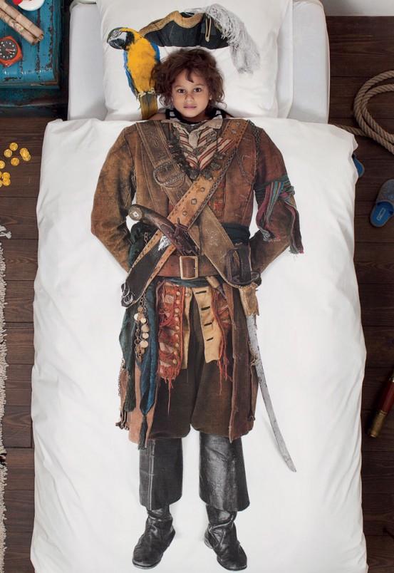 Snurk Beddengoed Junior piraat