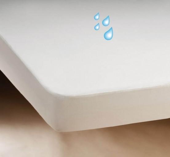 Waterdicht Badstof Matrasbeschermer PVC 180x200m