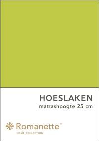 Romanette Hoeslaken Katoen Apple -90 x 200 cm