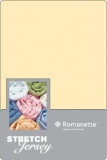 Romanette Jersey Hoeslaken Vanille