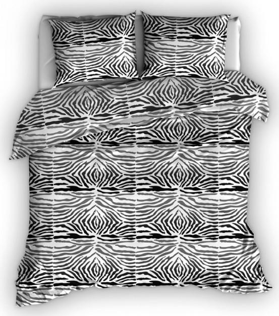 Satin d'Or dekbedovertrek Zebra