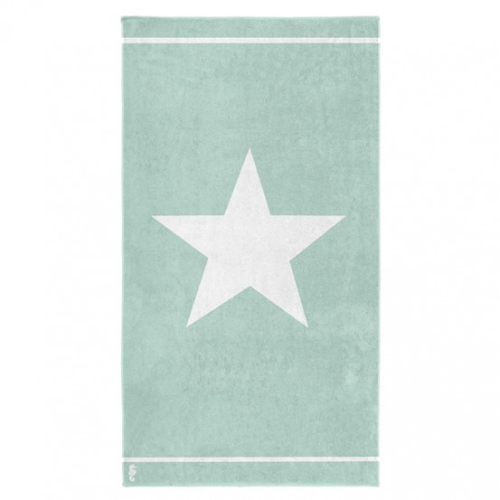Seahorse Strandlaken Star Mint