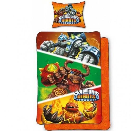 Skylanders dekbedovertrek Giants Oranje