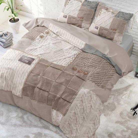 Sleeptime dekbedovertrek Knitted Home