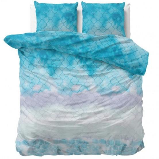 Sleeptime Dekbedovertrek Dream Wave Blue