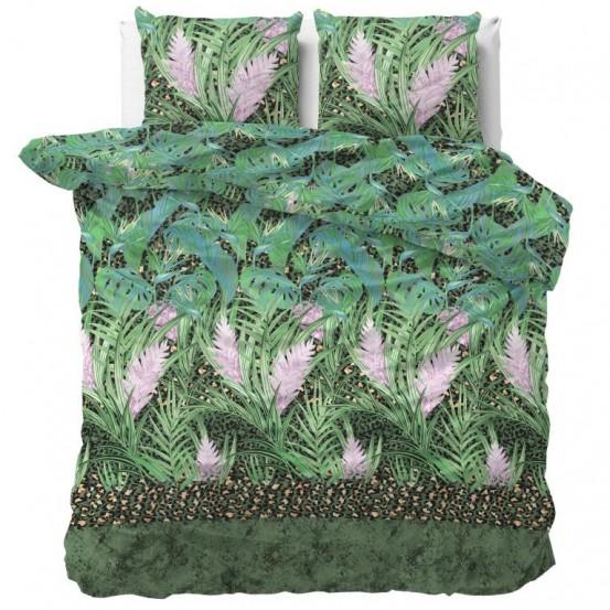 Sleeptime Dekbedovertrek Future Jungle Green