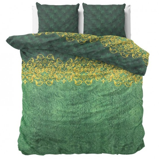 Sleeptime Dekbedovertrek Petty Chrone Green