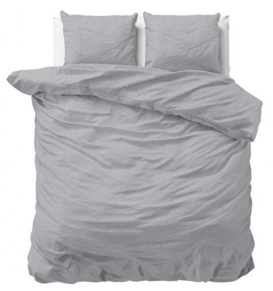 Sleeptime Dekbedovertrek Wicket Grey
