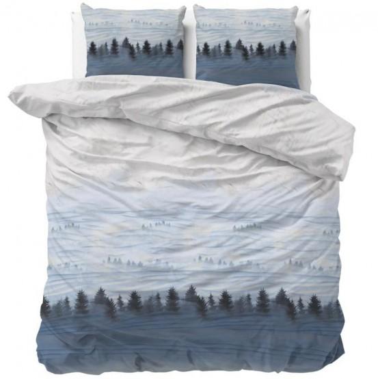 Sleeptime Dekbedovertrek Winter Forest Grey