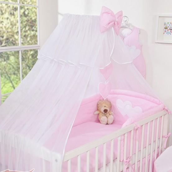 My Sweet Baby Sluier Chic Voile Roze/Streep