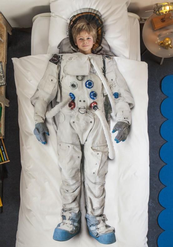 Snurk Beddengoed Junior Astronaut