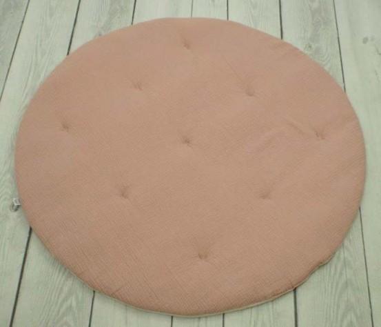 Betulli Speelkleed Mousseline Rond Dusty Pink