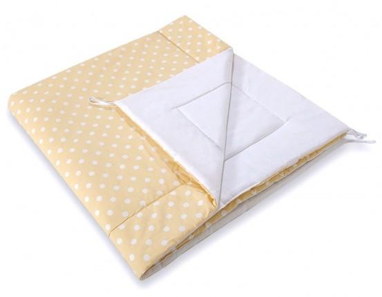 Speelkleed Tipi Tent Dots Yellow