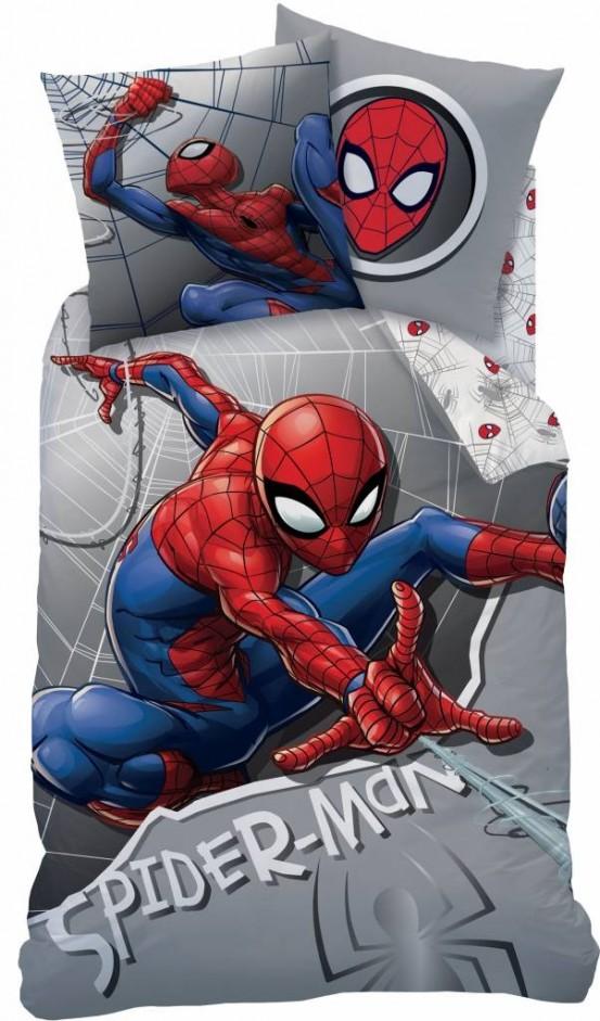 Flanellen Dekbedovertrek Spiderman