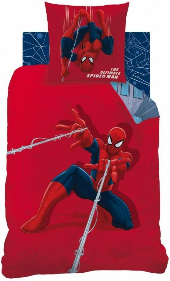 Spiderman Dekbedovertrek Tower Multi
