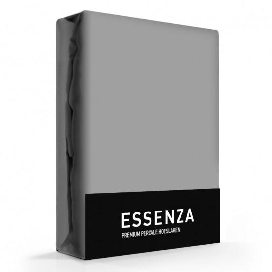 Essenza hoeslaken Premium Percal Steel Grey