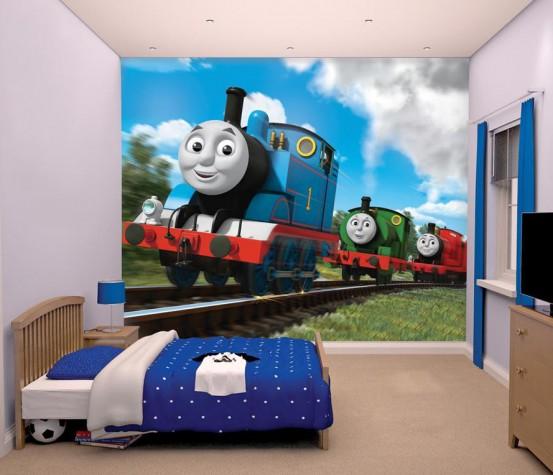 Thomas de Trein & Friends Fotobehang (Walltastic)
