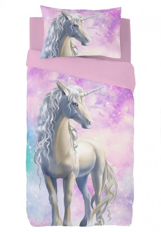 Zavelo Dekbedovertrek Unicorn