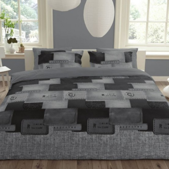 House Of Dreams Dekbedovertrek Vinta Grey