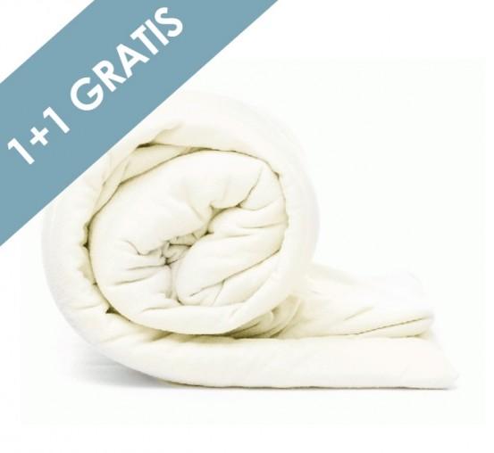 Voordeelpack Jersey Hoeslaken Cream 1 + 1 GRATIS