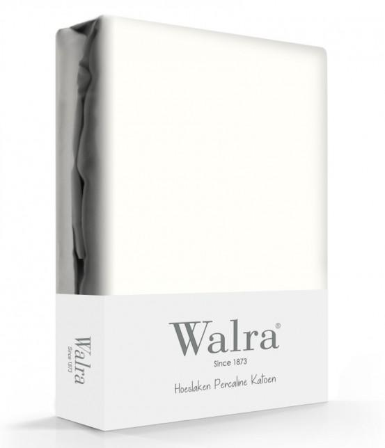 Walra Hoeslaken Percale Offwhite