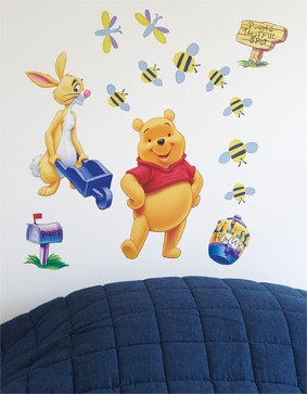 """Winnie de Pooh Stickers """"Collectable"""""""