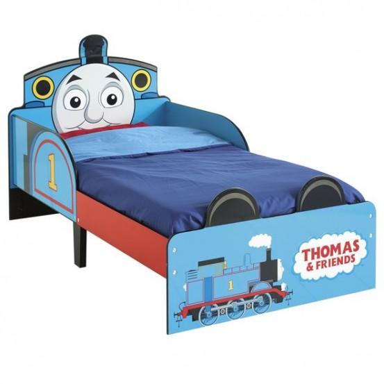 Bed Peuter Thomas de Trein: 143x77x68 cm