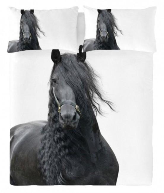 Fries Paard Dekbedovertrek by ZaZa Bedding