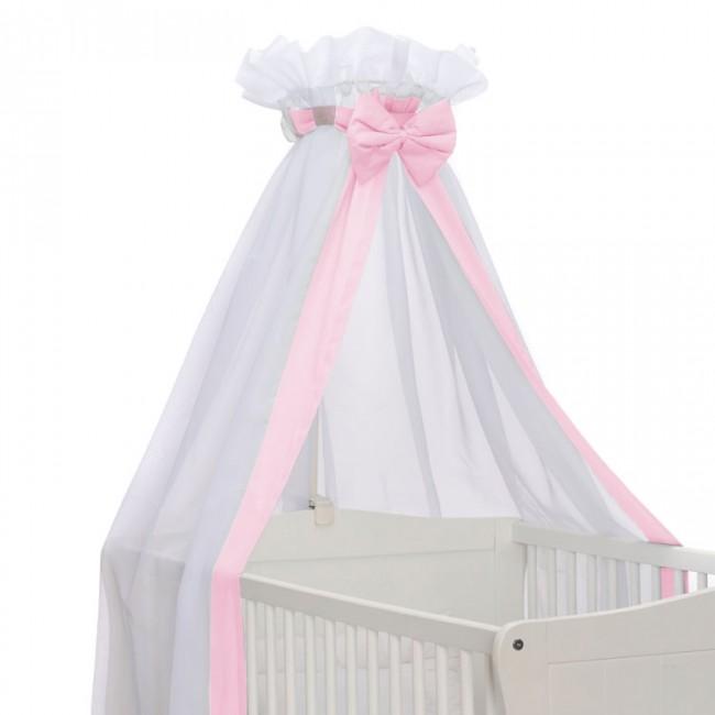 Spiksplinternieuw Baby Sluier Strik Roze GE-68