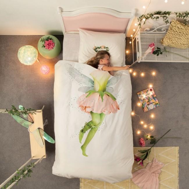 Snurk Dekbedovertrek Fairy 1 Persoons Elfjes