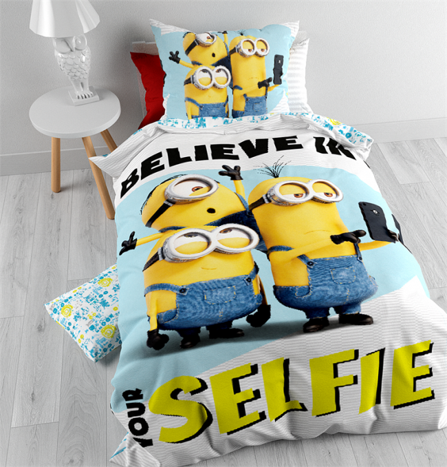 dekbedovertrek despicable me. Black Bedroom Furniture Sets. Home Design Ideas