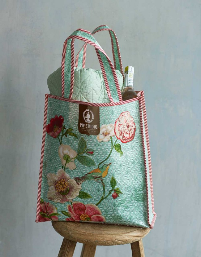 Pip Studio Deken.Pip Studio Shopper Poppy Green