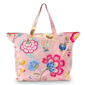 PiP Studio Beachbag Floral Fantasy Old Pink