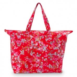 PiP Studio Beachbag Chinese Blossom Red