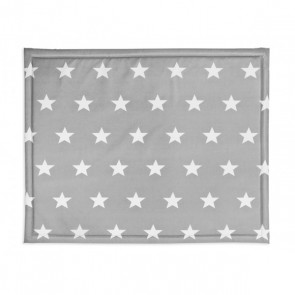 Jollein Boxdek 75x95cm Little star dark grey