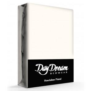 Flanellen Hoeslaken Ecru Day Dream