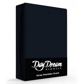 Day Dream Jersey Hoeslaken navy-90 x 200 cm