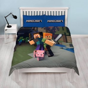 Minecraft Dekbedovertrek Goodguys Multi