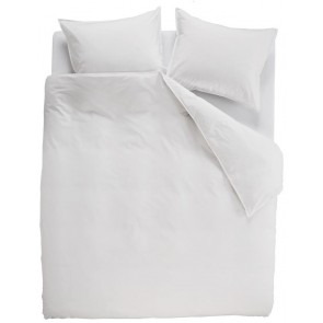Ambiante Dekbedovertrek Uni Cotton White