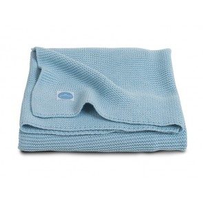 Jollein Deken 100x150cm Basic knit Ice Blue