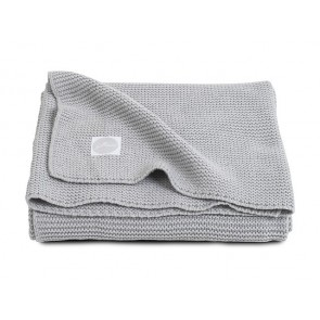 Jollein Deken 75x100cm Basic knit Light Grey