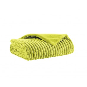 Home Living Plaid Rib Soft Touch Lime