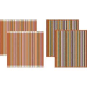 DDDDD Keukendoeken En Theedoeken Over The Rainbow (2+2 stuks)
