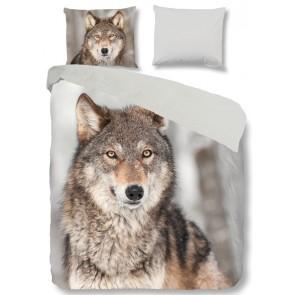 Goodmorning Dekbedovertrek Wolf Flanel