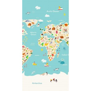 Good Morning Kids Strandlaken Worldmap